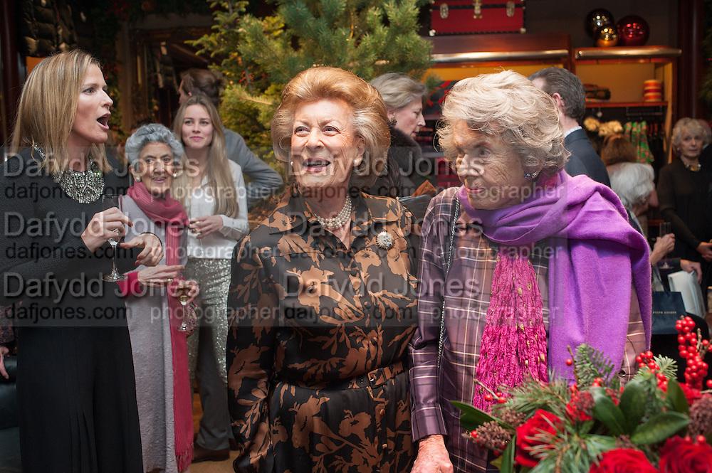 INDIA HICKS;  LADY PAMELA HICKS; COUNTESS MOUNTBATTEN OF BURMA, Book launch for ' Daughter of Empire - Life as a Mountbatten' by Lady Pamela Hicks. Ralph Lauren, 1 New Bond St. London. 12 November 2012.