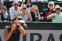 Ana IVANOVIC  / Julie GAYET   - 04.06.2015 - Jour 12 - Roland Garros 2015<br />Photo : Nolwenn Le Gouic / Icon Sport *** Local Caption ***