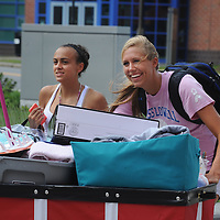 Move In Day at UMASS Lowell east campus