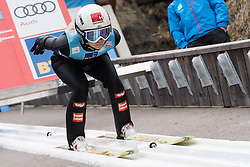 February 8, 2019 - Ljubno, Savinjska, Slovenia - Chiara Hoelzl of Austria on first competition day of the FIS Ski Jumping World Cup Ladies Ljubno on February 8, 2019 in Ljubno, Slovenia. (Credit Image: © Rok Rakun/Pacific Press via ZUMA Wire)