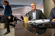 CEO of the Norwegian Bank DNB, Rune Bjerke, at the World Economic Forum in Davos.