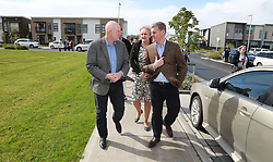 Prime Minister Bill English makes announcement at the Hobsonville development to boost the grants offered to first-home buyers and builders currently $10,000, doubled to $20,000, while the grant offered to builders would rise from $20,000 to $30,000, Auckland, New Zealand, Sunday, September 10, 2017. Credit:SNPA / Hayden Woodward**NO ARCHIVING**