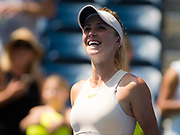 Elina Svitolina of the Ukraine in action during her second-round match at the 2018 US Open Grand Slam tennis tournament, at Billie Jean King National Tennis Center in Flushing Meadow, New York, USA, August 29th 2018, Photo Rob Prange / SpainProSportsImages / DPPI / ProSportsImages / DPPI