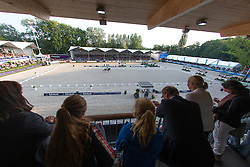 Overview dressage arena <br /> CDIO5 Grand Prix Freestyle <br /> CHIO Rotterdam 2014<br /> © Dirk Caremans