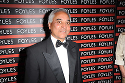 SAM HUSAIN CEO of Foyles at a gala dinner in celebration of 80 years since the first Foyles Literary Luncheon, held in The Ball Room, Grosvenor House Hotel, Park Lane, London on 21st October 2010.