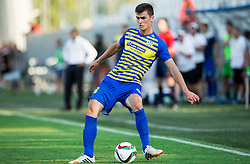 Amar Rahmanovic #8 of Luka Koper during First Leg football match between FC Luka Koper and HNK Hajduk Split (CRO) in Second qualifying round of UEFA Europa League, on July 16, 2015 in Stadium Bonifika, Koper, Slovenia. Photo by Vid Ponikvar / Sportida