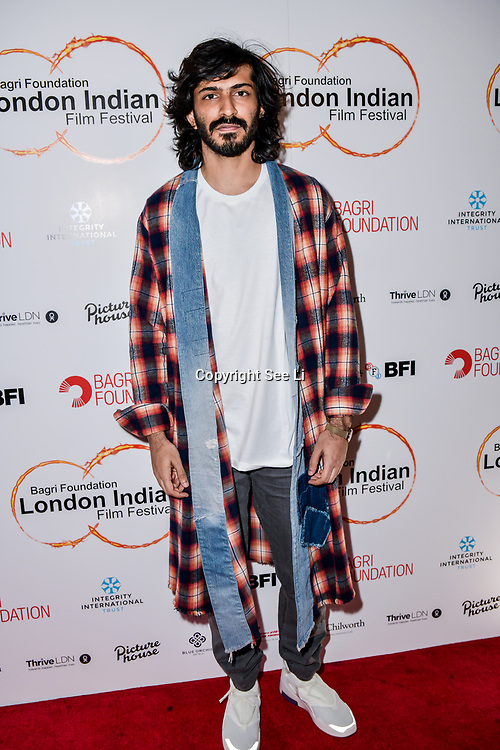 Harshvardhan Kapoor arrives at London Indian Film Festival world premiere of Anubhav Sinha's 'Article 15' at Picturehouse Central, on 20 June 2019, London , UK.