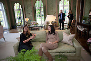 ROSE HEYMAN;  YASSMIN GHANDEHARI; Reception to launch American Ballet TheatreÕs  International Council in support of cross-cultural educational exchange and international touring.<br /> An educational exchange program between<br /> American Ballet Theatre and The Royal Ballet. Hosted by AMBASSADOR LOUIS B. SUSMAN, MRS. MARJORIE SUSMAN. Winfield House. Regents Park. London. 27 April 2010 *** Local Caption *** -DO NOT ARCHIVE-© Copyright Photograph by Dafydd Jones. 248 Clapham Rd. London SW9 0PZ. Tel 0207 820 0771. www.dafjones.com.<br /> ROSE HEYMAN;  YASSMIN GHANDEHARI; Reception to launch American Ballet Theatre's  International Council in support of cross-cultural educational exchange and international touring.<br /> An educational exchange program between<br /> American Ballet Theatre and The Royal Ballet. Hosted by AMBASSADOR LOUIS B. SUSMAN, MRS. MARJORIE SUSMAN. Winfield House. Regents Park. London. 27 April 2010