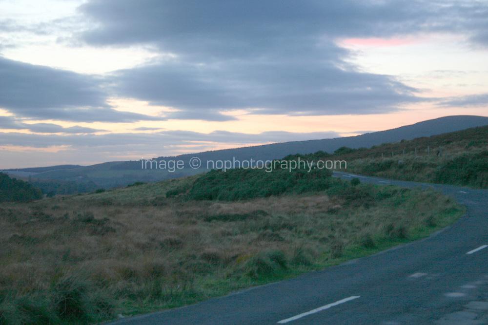 Evening landscape, County Wicklow, Ireland