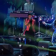 NLD/Amsterdam/20180905- Uitreiking 3FM Awards 2018, Ronnie Flex en Maan de Steenwinkel