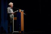 Dietzenbach   09 October 2015<br /> <br /> Am Freitag (09.10.2015) f&uuml;hrte die Partei &quot;Alternative f&uuml;r Deutschland&quot; (AfD) im B&uuml;rgerhaus in der hessischen Kleinstadt Dietzenbach eine Veranstaltung unter dem Motto &quot;Internationale Politik und Asylchaos&quot; durch, Hauptredner war Dr. Alexander Gauland.<br /> Hier: Rolf Kahnt, Vorstandssprecher AfD Hessen, h&auml;lt eine Rede.<br /> <br /> &copy;peter-juelich.com<br /> <br /> [No Model Release   No Property Release]