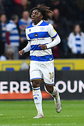 Queens Park Rangers player Eberechi Eze (10) during the EFL Sky Bet Championship match between Hull City and Queens Park Rangers at the KCOM Stadium, Kingston upon Hull, England on 19 October 2019.