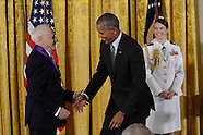 Washington - Obama Awards National Medal Of Arts - 24 Sep 2016
