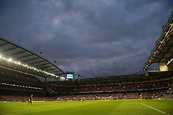 LONDON, ENGLAND - Wednesday, May 6, 2009: Chelsea's take on Barcelona during the UEFA Champions League Semi-Final 2nd Leg match at Stamford Bridge. (Photo by David Rawcliffe/Propaganda)