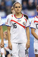 26 October 2014: Katherine Alvaredo (CRC). The United States Women's National Team played the Costa Rica Women's National Team at PPL Park in Chester, Pennsylvania in the 2014 CONCACAF Women's Championship championship game. By advancing to the final, both teams have qualified for next year's Women's World Cup in Canada. The United States won the game 6-0.