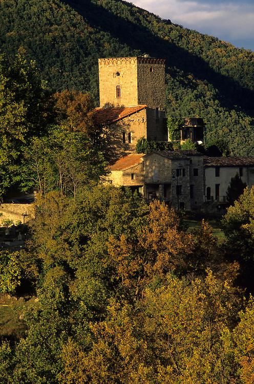France, Languedoc Roussillon, Gard, Cévennes, village de Saint Roman de Codières