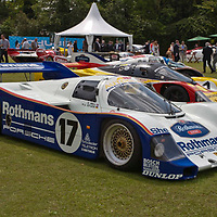 #17 Last works Rothmans Porsche (962C-008 Works) built, ran as Number 17 driven by Derek Bell and Hans Stuck and finished on the podium in every race entered