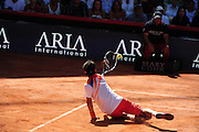 Fabio Fognini (ITA) during the final of the Bet-At-Home Open at Rothenbaum in Hamburg, Germany, July 21, 2013. Photo: Miroslav Dakov