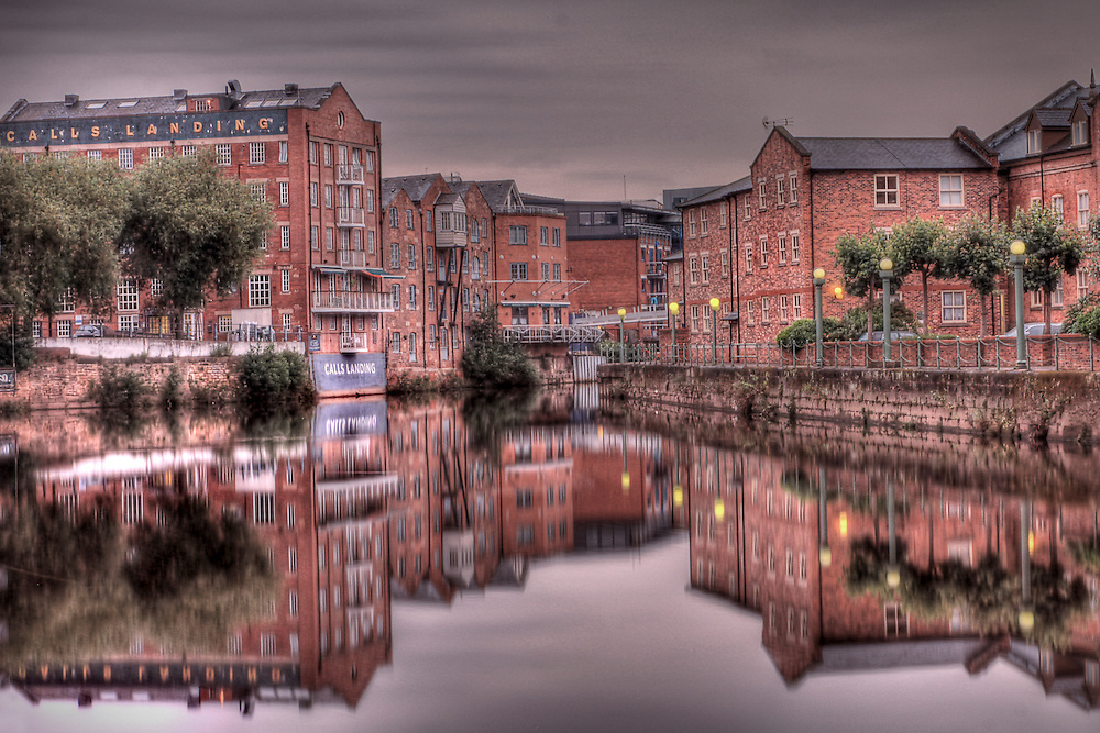 High dynamic range (HDR), long exposure taken in Leeds city centre, United Kingdom