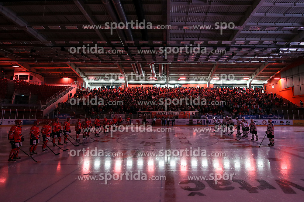 View on arena during ice hockey match between HDD SIJ Acroni Jesenice and HDD Olimpija Ljubljana in Final of Slovenian League 2016/17, on April 9, 2017 in Podmezaklja, Jesenice, Slovenia. Photo by Matic Klansek Velej / Sportida