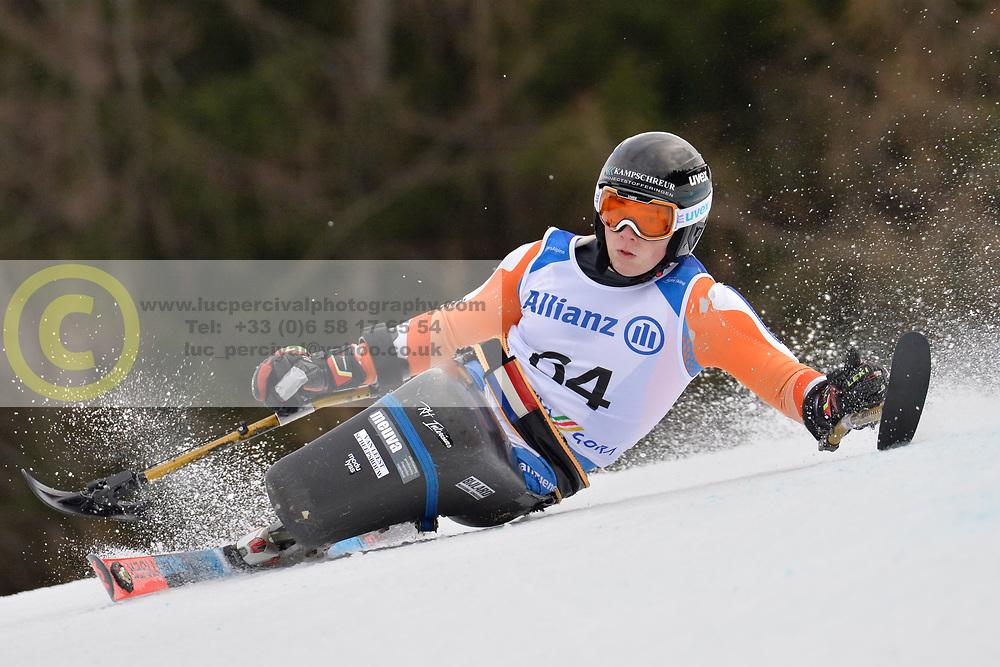 KAMPSCHREUR Jeroen LW12-2 NED at 2018 World Para Alpine Skiing Cup, Kranjska Gora, Slovenia