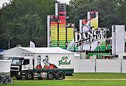 Nederland, Nijmegen, 4-9-2011Het terrein in het Goffertpark waar het dance evenement Dance at the Park gehouden wordt. Een vrachtwagen van Grolsch bier staat erbij.Foto: Flip Franssen/Hollandse Hoogte