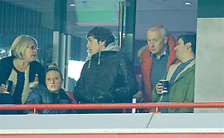 LIVERPOOL, ENGLAND - Wednesday, January 20, 2016: Former Liverpool chief executive Rick Parry during the FA Cup 3rd Round Replay match against Exeter City at Anfield. (Pic by David Rawcliffe/Propaganda)