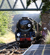 Merchant Navy Class 35018 British India Line Steam Locomotive
