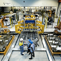 TATA Steel Park Wednesfield - Making car doors for BMW