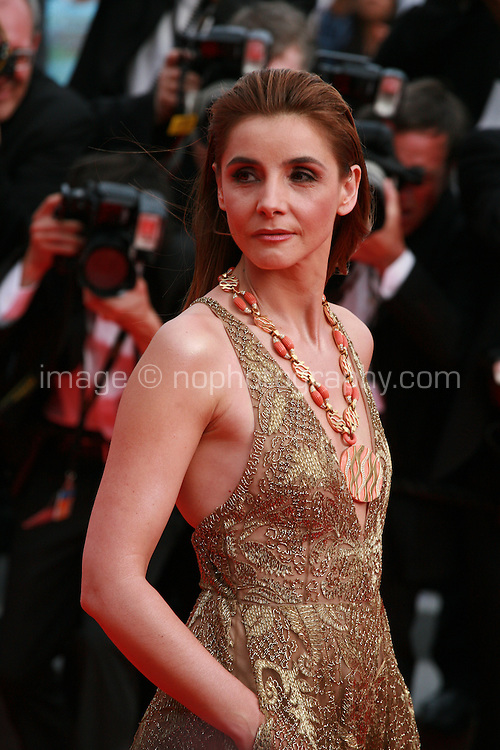 Clotilde Courau at The Search gala screening red carpet at the 67th Cannes Film Festival France. Tuesday 20th May 2014 in Cannes Film Festival, France.