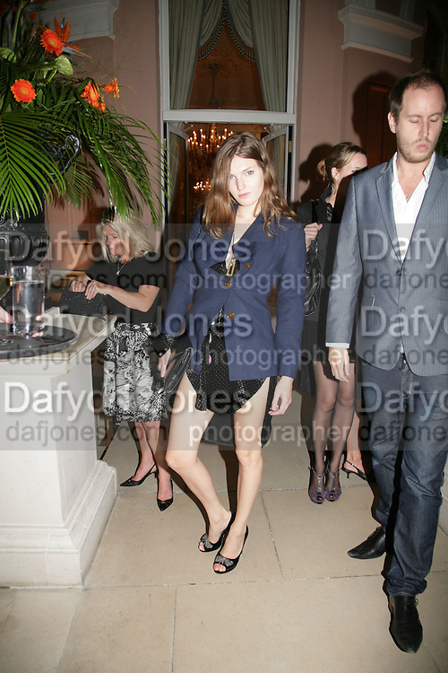 Anahita Resort launch party. Wallace Collection. London. 12 September 2007. ( Photo by Dafydd Jones) Ben Grimes  -DO NOT ARCHIVE-© Copyright Photograph by Dafydd Jones. 248 Clapham Rd. London SW9 0PZ. Tel 0207 820 0771. www.dafjones.com.
