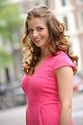 Setbezoek van de romantische komedie Valentino in Escape Amsterdam.<br /> <br /> Op de foto: <br />  Elise Schaap