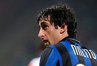 Diego Milito<br /> Inter-Roma 1-1<br /> Campionato di calcio serie A 2009/2010<br /> Milano, 08.11.2009<br /> Foto Paolo Bona Insidefoto