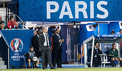 18.06.2016, Parc de Princes, Paris, FRA, UEFA Euro, Frankreich, Portugal vs Oesterreich, Gruppe F, im Bild Coach Marcel Koller (AUT) // Coach Marcel Koller (AUT) during Group F match between Portugal and Austria of the UEFA EURO 2016 France at the Parc de Princes in Paris, France on 2016/06/18. EXPA Pictures © 2016, PhotoCredit: EXPA/ JFK