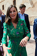072519 Queen Letizia visits the International School of Music of the Princess of Asturias Foundation