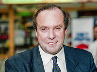 Michael Ancram, MP, Conservative Party, UK, Westminster Parliament, 19931016/MA.<br />