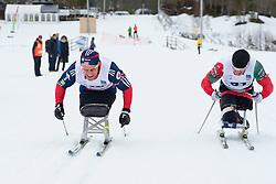 LUKYANENKA Yauheni, CNOSSEN Daniel, USA, BLR, Long Distance Biathlon, 2015 IPC Nordic and Biathlon World Cup Finals, Surnadal, Norway