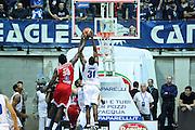 Red October Cantù VS Consultinvest Pesaro LBA serie A 3^ giornata stagione 2016/2017 Desio 16/10/2016<br /> <br /> Nella foto: Nnoko Landry