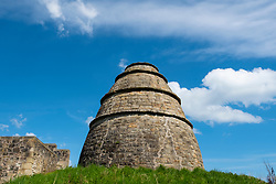 Dovecot ( Doocot) at Aberdour Castle in Fife Scotland UK