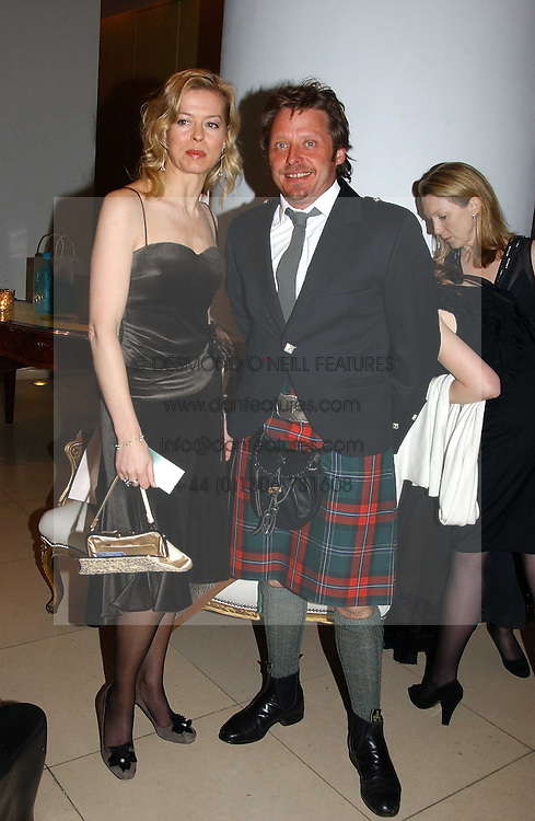 LADY HELEN TAYLOR and CHARLEY BOORMAN at a Burns Night supper in aid of Clic Sargent & Children's Hospital Association Scotland hosted by Ewan McGregor, Sharleen Spieri and Lady Helen Taylor at St.Martin's Lane Hotel, 45 St Martin's Lane, London on 25th January 2006.<br /><br />NON EXCLUSIVE - WORLD RIGHTS