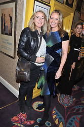 Left to right, actress EMMA KENNEDY and KATE REARDON Editor of Tatler at a party to celebrate the publication of Tatler Magazine's Little Black Book 2012 held at Annabel's, Berkeley Square, London on 7th November 2012.