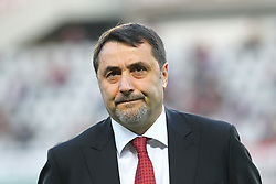 April 18, 2018 - Turin, Italy - Massimiliano Mirabelli, manager of AC Milan, during the Serie A football match between Torino FC and AC Milan at Olympic Grande Torino Stadium  on April 18, 2018 in Turin, Italy. .Final result: 1-1  (Credit Image: © Massimiliano Ferraro/NurPhoto via ZUMA Press)