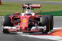 Sebastian Vettel - Ferrari  - Monza 02.09.2016 - Formula 1 Gran Premio d'Italia- Prove Libere