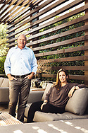 Dave Mendro and Mary Andrulaitis at Thayer Residence, by Neumann Mendro Andrulaitis Architects.