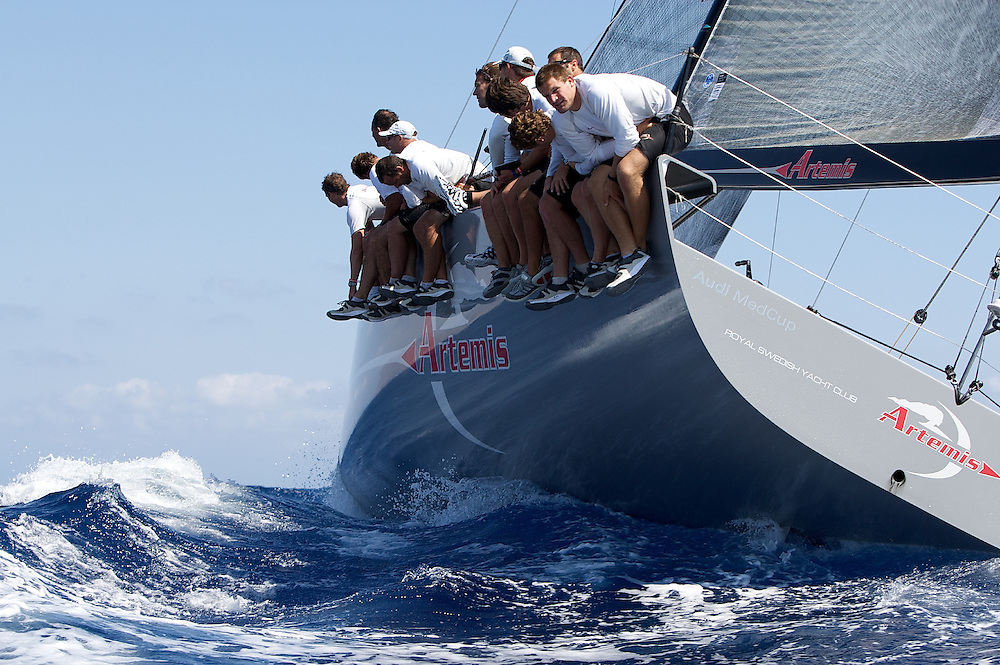 Artemis during Race 2 of the AUDI Medcup in Cartagena