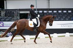 Van Kersbergen Marije, NED, Hollywood<br /> Longines FEI/WBFSH World Breeding Dressage Championships for Young Horses - Ermelo 2017<br /> © Hippo Foto - Dirk Caremans<br /> 03/08/2017