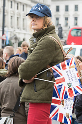 Westminster, London, March 23rd 2016 British farmers from across the UK march on Downing Street to deliver a petition call for government support in securing fairer producer prices. ©Paul Davey<br /> FOR LICENCING CONTACT: Paul Davey +44 (0) 7966 016 296 paul@pauldaveycreative.co.uk