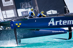 Artemis Racing. 23rd of May, 2017, Bermuda