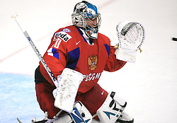 Goalkeeper of Russia Evgeny Nabokov  at  ice-hockey game Canada vs Russia at finals of IIHF WC 2008 in Quebec City,  on May 18, 2008, in Colisee Pepsi, Quebec City, Quebec, Canada. Win of Russia 5:4 and Russians are now World Champions 2008. (Photo by Vid Ponikvar / Sportal Images)