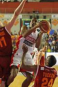 DESCRIZIONE : Roma Lega A 2011-12 Acea Virtus Roma Scavolini Siviglia Pesaro<br /> GIOCATORE : James White<br /> CATEGORIA : tiro super<br /> SQUADRA : Scavolini Siviglia Pesaro<br /> EVENTO : Campionato Lega A 2011-2012<br /> GARA : Acea Virtus Roma Scavolini Siviglia Pesaro<br /> DATA : 11/01/2012<br /> SPORT : Pallacanestro<br /> AUTORE : Agenzia Ciamillo-Castoria/ElioCastoria<br /> Galleria : Lega Basket A 2011-2012<br /> Fotonotizia : Roma Lega A 2011-12 Acea Virtus Roma Scavolini Siviglia Pesaro<br /> Predefinita :